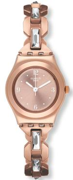 Swatch Octoshine Rose Gold Stainless Steel Analog Watch - YSG144G