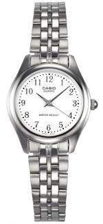 Casio Core Silver Tone Stainless Steel Analog Watch - LTP1129A-7B