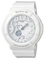 Casio Baby-G White Resin Strap Analog Watch - BGA131-7B
