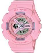 Casio Sports Pink Rubber Strap Analog Watch -BA-110-4A1ER