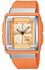 Casio Baby-G Alarm Chronograph Orange Resin Strap Digital Watch - BG-82F-4E2ER