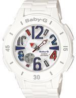Casio Baby-G White Resin Strap Analog Watch - BGA-170-7B2ER
