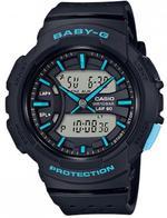 Casio Baby-G Running Series Black Resin Strap Unisex Digital Watch - BGA-240-1A3ER