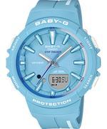 Casio Baby-G Step Tracker Blue Resin Strap Analog Watch - BGS-100RT-2AER