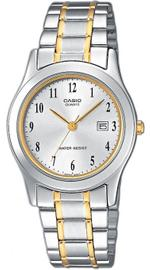 Casio Two Tone Silver Gold Links Analog Watch - LTP-1264G-7