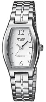 Casio Silver Tone Stainless Steel Analog Watch - LTP-1281D-7AEF