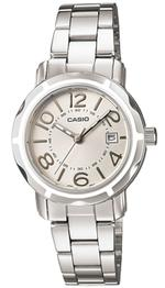 Casio Silver Tone Stainless Steel Analog Watch - LTP-1299D-7AEF