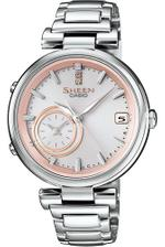 Casio Sheen Silver Stainless Steel Analog Watch -SHB-100D-4AER
