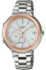 Casio Sheen Silver Tone Stainless Steel Analog Watch SHB-200SG-7AER