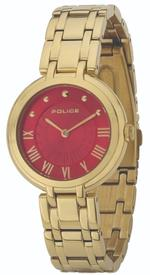 Police Edison Gold Tone Stainless Steel Analog Watch -P 14868BSG-D16M