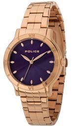 Police Hazel Rose Gold Tone Analog Watch -P 14986BSR-15M
