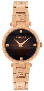 Police Qurem Rose Gold Tone Analog Watch -P 15570LSR-12M