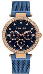 Police Mikkeli Blue Stainless Steel Analog Watch -P 15891MYR-03MMBL