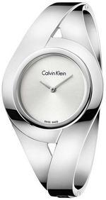 Calvin Klein Sensual Mid Silver Stainless Analog Watch - K8E2M116