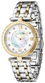 Escada Scarlet Two Tone Silver Gold Links Analog Watch - D EW4635034