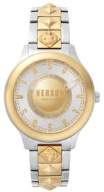 Versus Tokai Two Tone Silver Gold Analog Watch - V WVSP410518