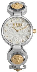 Versus Peki Road Two Tone Silver Gold Analog Watch - V WVSP750918