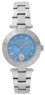 Versus Logo New Silver Stainless Steel Analog Watch - V WVSP772418