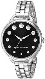 Marc Jacobs Betty Silver Stainless Steel Analog Watch -  MJ3493