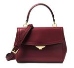 Michael Kors Red Ava Extra-Small Leather Satchel (32T8GF5M1L)