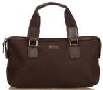 Gucci Brown Canvas Handbag (8KGUHB031)