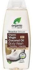 Dr.Organic Virgin Coconut Oil Body Wash - 250 ml