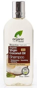 Dr.Organic Virgin Coconut Oil Shampoo - 265 ml