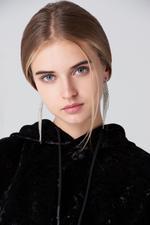OwnTheLooks Silver-Toned Slanted Stone-Studded Tassel Earrings (170B)