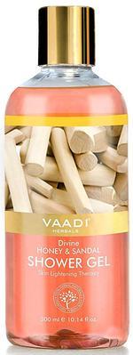 Vaadi Herbals Divine Honey & Sandal Shower Gel - 300 ml