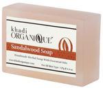Khadi Organique Sandalwood Soap (Handmade) 125 gm