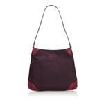 Gucci Purple Nylon Shoulder Bag (9BGUSH023)