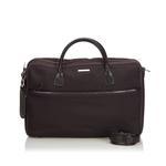 Gucci Dark Brown Nylon Business Bag (9EGUBS001)