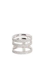 APM Monaco 925 Silver Zirconia Ring (A15227OX-58)