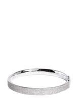 APM Monaco 925 Silver Zirconia Bangle (AB2941OX-M)
