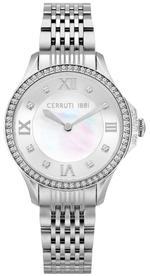 Cerruti 1881 Vignarola Silver Tone Stainless Steel Analog Watch - C CRWM22601