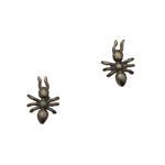 Gunina Gunmetal Stud Earring (GE1298 Oxidized)