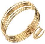 Just Cavalli Gold Plated Bangle (SCHX07)