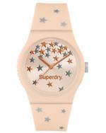 Superdry URBAN STAR  Pink Silicone Strap Analog Watch - T SDWSYL275P