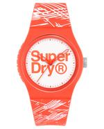 Superdry URBAN ETCH  Orange Silicone Strap Analog Watch - T SDWSYL292WP