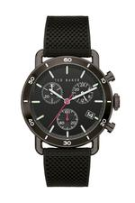 Ted Baker Magarit Men's Watch with Black Dial and Black Silicon Strap - T TBKPMGF9033O