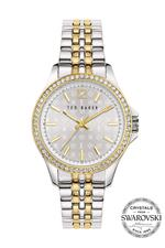 Ted Baker Nicolya Women's Watch with Silver Dial and Stainless Steel And Gold Plated Stainless Steel - T TBKPNIF902