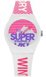 Super Dry Urban SKI Multicolor Silicone Strap Analog Watch -  T SDWSYL255WP