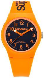 Superdry URBAN  Orange Rubber Strap Analog Watch - T SDWSYG164O