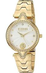 Versus by Versace Crystal Gold Tone Analog Watch - V WVSPCI3517