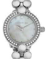 Cerruti 1881 Laveno Silver Tone Analog Watch -C CRWM184SN28MS