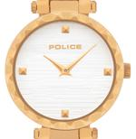 Police Qurem Gold Tone Analog Watch -P 15570LSG-06M