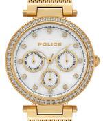Police Mikkeli Gold Tone Analog Watch -P 15891MYG-28MM