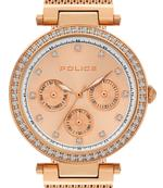 Police Mikkeli Rose Gold Stainless Steel Analog Watch -P 15891MYR-32MM