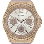 Guess Starlight Purple Silicone Strap Analog Watch - W0846L6