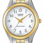 Casio Core Two Tone Silver Gold Stainless Steel Analog Watch - LTP1129G-7B
